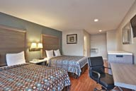 Deluxe 2 Double Beds at Knights Inn Anaheim